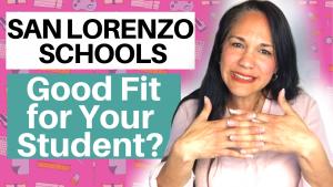 San Lorenzo California test scores for Public and list private schools